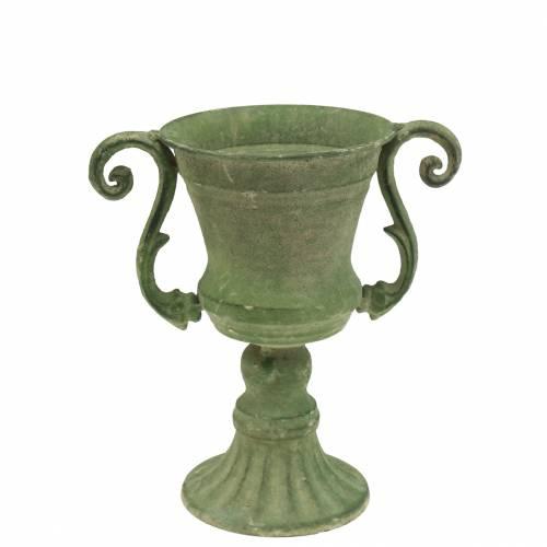 Cup bowl green Ø11cm H19cm