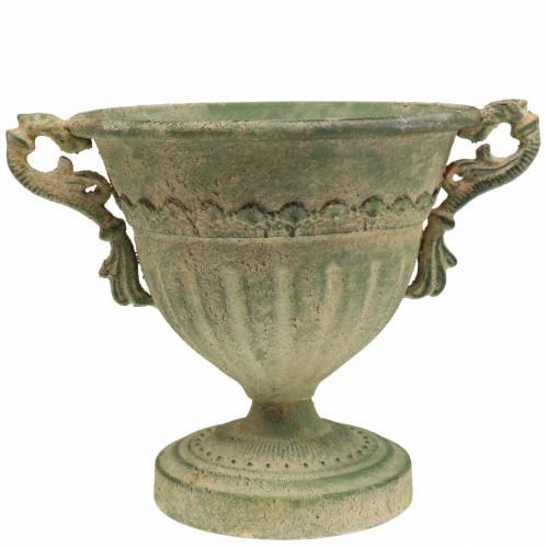 Cup bowl Shabby Chic Green Ø19cm H18cm