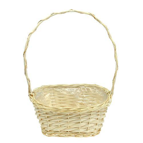 Present basket approx. 30cm x 23cm light