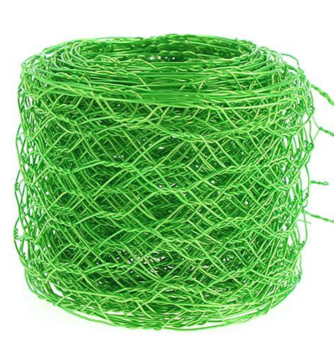 Hexagonal braid apple green 50mm 5m