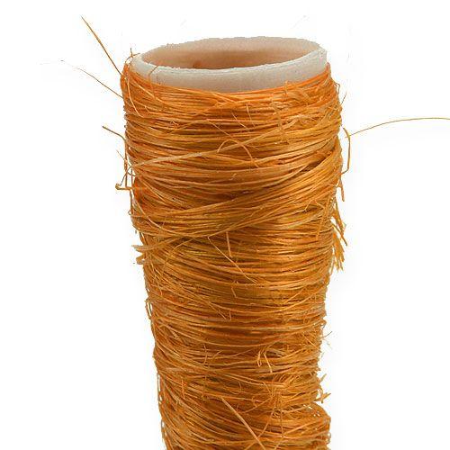 Sisal pointed vase orange Ø1.5cm L15cm 20pcs
