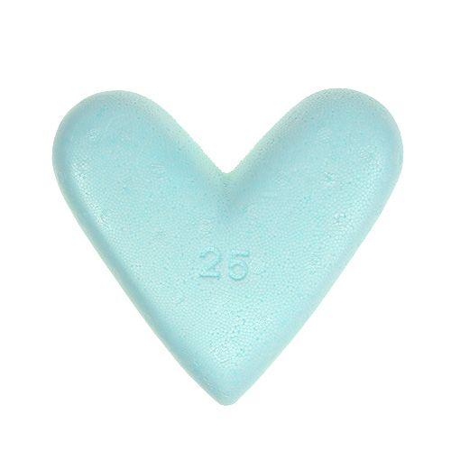 Styrofoam heart 25cm 2pcs