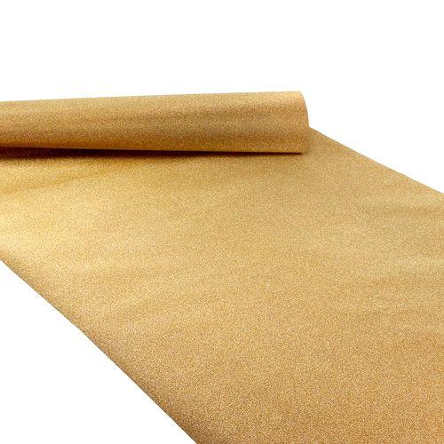 Table runner 50cm x 300cm gold