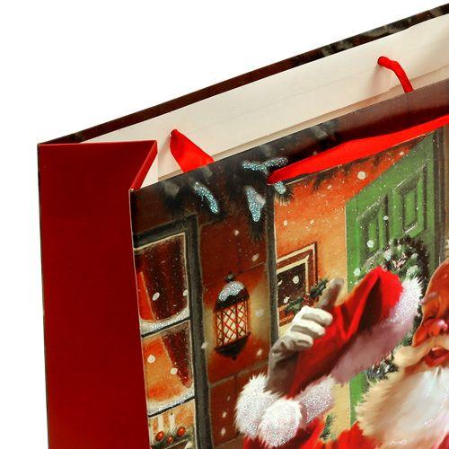 Gift bag with Santa 24cm x 18cm x 8cm