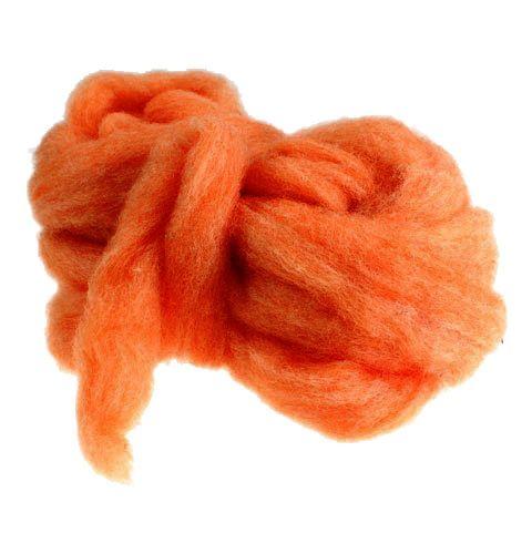 Wool rivet 10m orange