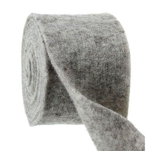 Felt tape gray 15cm 5m