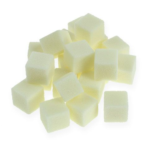Wet foam mini-cube cream 300p