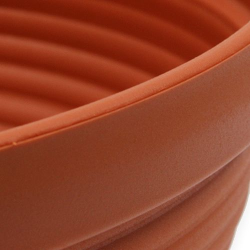 R-bowl plastic terracotta Ø 13cm - 19cm, 10pcs
